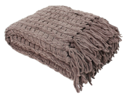 Featured Product Luxury Chenille Throw with Tassels