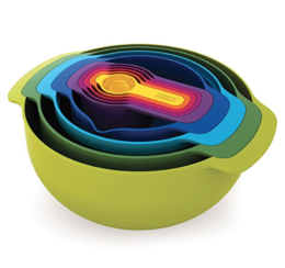 Featured Product Nest 9 Nesting Bowls Set