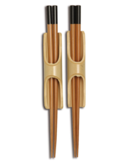 Featured Product Burnished Bamboo Chopstick Set