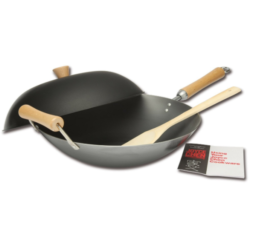 Featured Product Classic Series Carbon Steel Wok Set