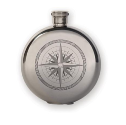 Featured Product 3 oz. Flask + Compass