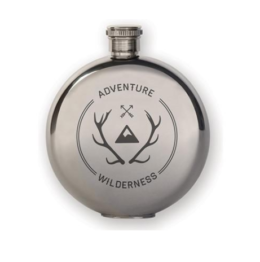 Featured Product 3 oz. Flask + Wilderness Badge