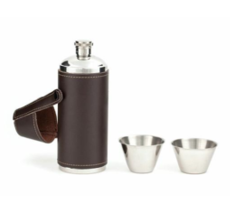 Featured Product Leather Flask