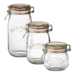 Featured Product Round Clip Top Canning Jar