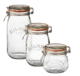 Featured Product Round Clip Top Canning Jars