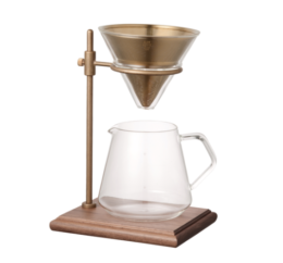 Featured Product Slow Coffee Style Specialty Brewer Stand Set 4 Cups