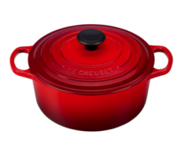 Featured Product Round Dutch Oven in Cerise