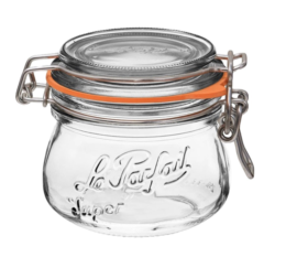 Featured Product Wide Mouth French Glass Preserving Jars