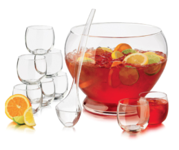 Featured Product 10 Piece Punch Bowl Set