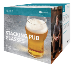 Featured Product Urban Story Stacking Pub Glass 4-pc Set