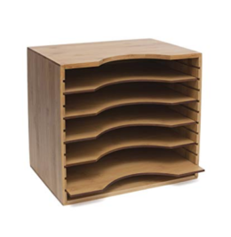 Featured Product Bamboo Wood File Organizer
