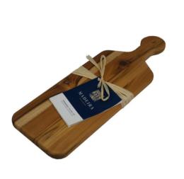 Featured Product Provo Teak Edge-Grain Bread Board