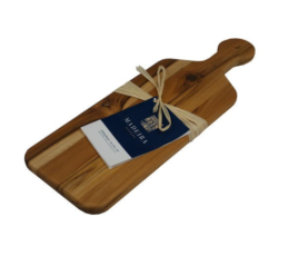 Featured Product Provo Teak Edge-Grain Bread Board