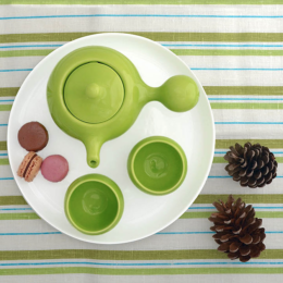 Featured Product Green Bulb Tea Set 2.0