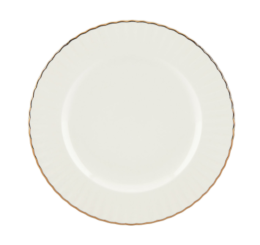 "Featured Product Marchesa Shades White 9"" Accent Plate"