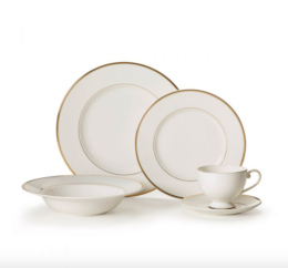 Featured Product Cameo Gold 5-Piece Place Setting