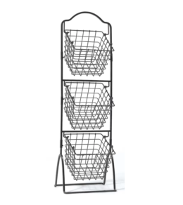 Featured Product Gourmet Basics 3-Tier Metal Basket
