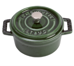 Featured Product Mini Round Cocotte in Basil