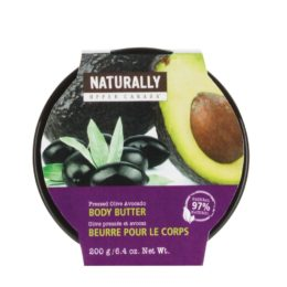 Featured Product Naturally Pressed Olive Oil Body Butter