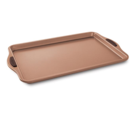 "Featured Product Freshly Baked 10"" x 15"" Copper Cookie Sheet"
