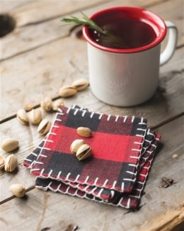 Featured Product Buffalo Check Coasters