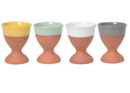 Featured Product Glazed Terracotta Hard Boiled Egg Cups