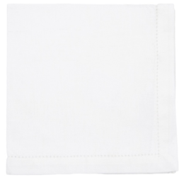 Featured Product White Hemstitch Cotton Napkins