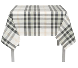 Featured Product Plaid Cotton Tablecloth