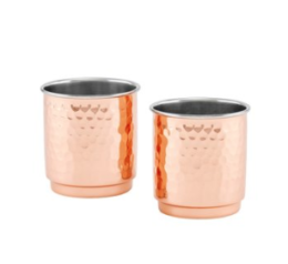 Featured Product Copper Hammered Whiskey Tumblers