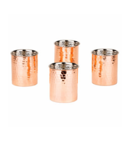 Featured Product Hammered Copper Tumblers