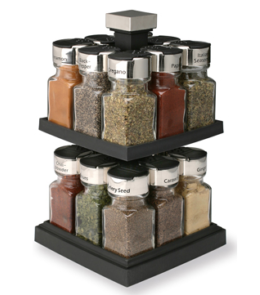 Featured Product 16 Jar Square Carousel Rack