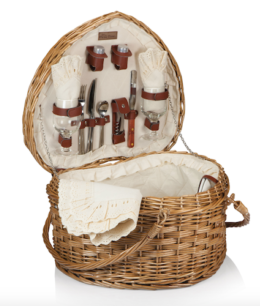Featured Product Heart Picnic Basket
