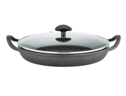 Featured Product Pre-Seasoned Rust Resistant Cast Iron Grill Pan