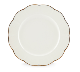 "Featured Product Marchesa Shades White 10.75"" Dinner Plate"