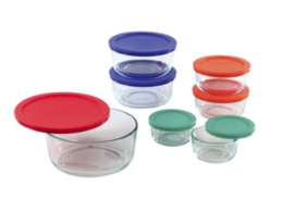 Featured Product Simply Store 14-pc Set w/ Multi-Colored Lids