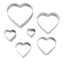 Featured Product Double Sided Heart Cookie Cutters