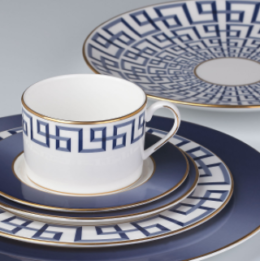 Featured Product Brian Gluckstein Darius Gold 5-piece Place Setting