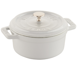 Featured Product Cast Iron 0.25-qt Mini Round Cocotte