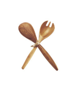 Featured Product Acacia Wood Fork & Spoon Serving Set