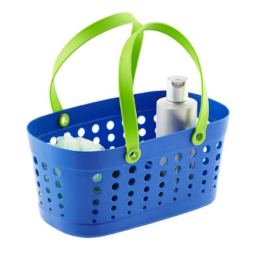 Featured Product Blue & Green Flexible Shower Basket