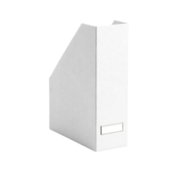 Featured Product White Stockholm Magazine Holder