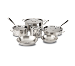 Featured Product Stainless 10-Piece Set