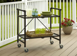 Featured Product Outdoor/Indoor Folding Serving Cart