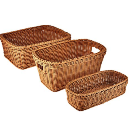 Featured Product Classics Nesting Wicker Weave Storage Basket