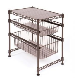 Featured Product Stackable 3-Tier Cabinet Organizer