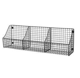 Featured Product Wall Mount Triple Storage Basket