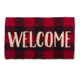 Featured Product Welcome Check Coir Mat