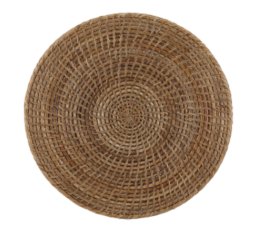 Featured Product The French Chef's Rattan Round Placemat