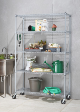 Featured Product 5-Tier Wire Shelving Rack