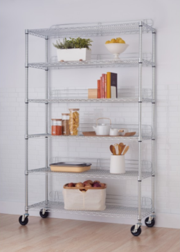 Featured Product 6-Tier Wire Shelving Rack